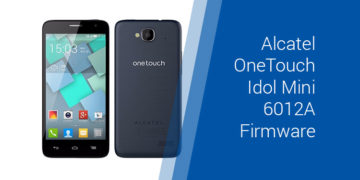 Alcatel One Touch 4030D Firmware Download (ROM flash file